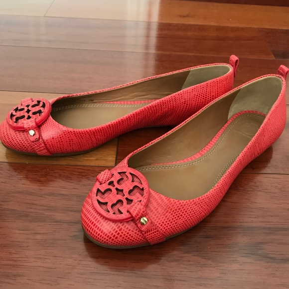 Tory Burch Shoes - Tory Burch Mini Miller Flat Micro Tejus- Melon